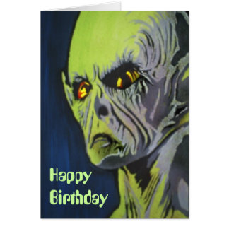 'Roswell, Never Forget' Birthday Card