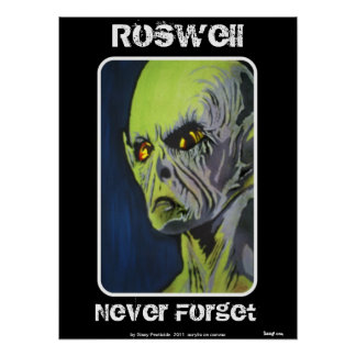 'Roswell, Never Forget' Poster