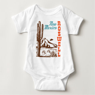 Roswell New Mexico Baby Bodysuit