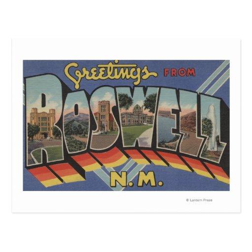 Roswell, New México - escenas grandes de la letra Postal
