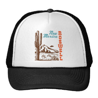 Roswell New México Gorros Bordados