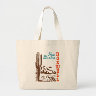 Roswell New Mexico Jumbo Tote Bag