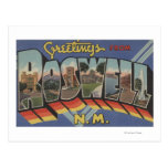 Roswell, New Mexico - Large Letter Scenes Post Card
