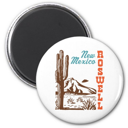 Roswell New Mexico Magnet