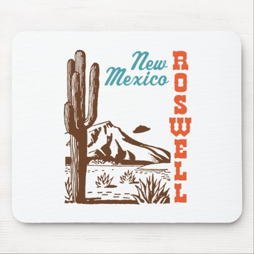Roswell New Mexico Mouse Mat