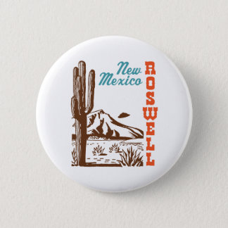 Roswell New Mexico Pinback Button