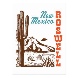 Roswell New México Postal