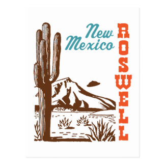 Roswell New Mexico Postcard