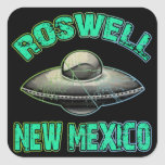 Roswell, New Mexico Square Sticker