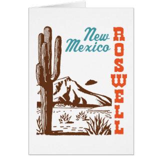 Roswell New México Tarjeta De Felicitación