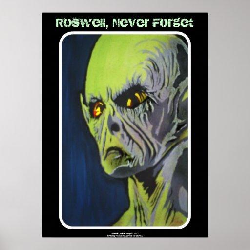 Roswell, nunca olvida el poster
