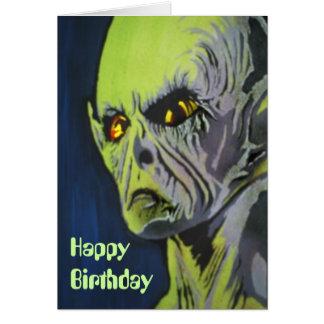 """Roswell, nunca olvida"" la tarjeta de cumpleaños"