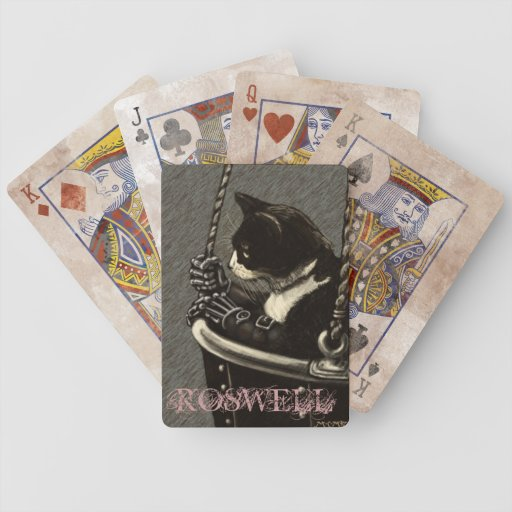 Roswell Playing Cards