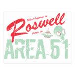 Roswell Tarjeta Postal