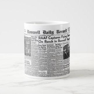 Roswell UFO incident Giant Coffee Mug