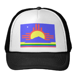 Roswell, United States flag Hats