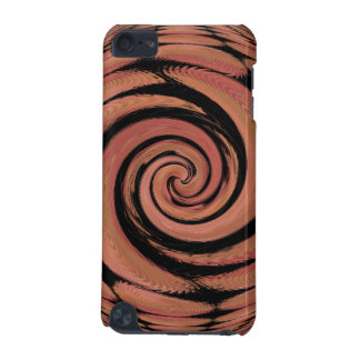 Rosy Beige Spinning Abstract iPod Touch (5th Generation) Case