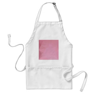 Rosy Brown Abstract Low Polygon Background Adult Apron