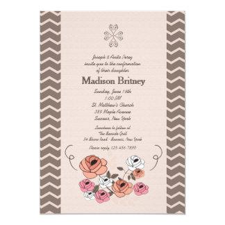 Rosy Bunch Invitation