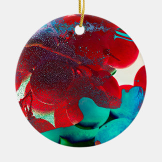 ROSY CERAMIC ORNAMENT