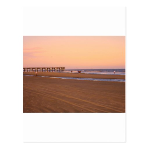 Rosy Evening at Isle of Palms Postcards