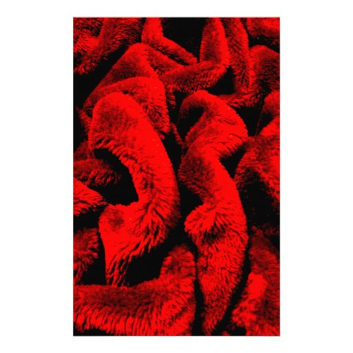 Rosy Fabric Stationery