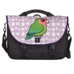 Rosy-faced Lovebird Bags For Laptop