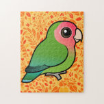 Rosy-faced Lovebird Jigsaw Puzzle