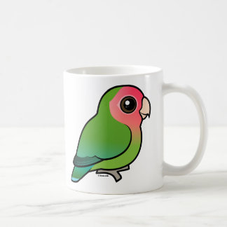 Rosy-faced Lovebird Coffee Mugs