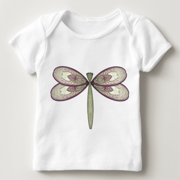Rosy Nouveau Dragonfly Baby T-Shirt