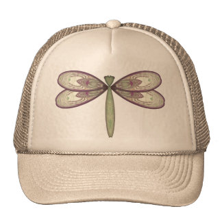 Rosy Nouveau Dragonfly Trucker Hat