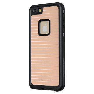 Rosy Stripes FRĒ® iPhone Case