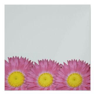 Rosy Sunray Invitation Card
