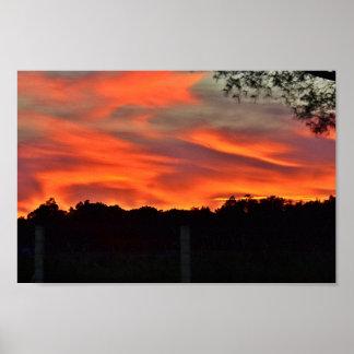 Rosy Sunset Print