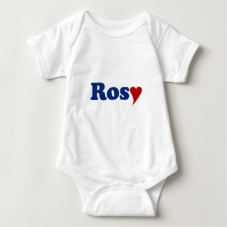 Rosy with Heart Shirt