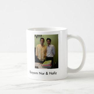 Rosyam Nor & Hafiz Classic White Coffee Mug