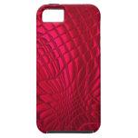 Rot gemustert iPhone 5 cover