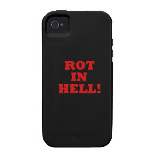Rot In Hell Vibe iPhone 4 Cases