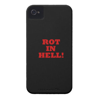 Rot In Hell iPhone 4 Case-Mate Cases