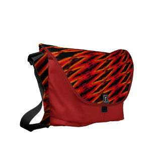 Rot Interferenz interference red Courier Bag