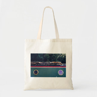 Rot Themed, Damp Wood Dried Over The Roof To Get S Tote Bag
