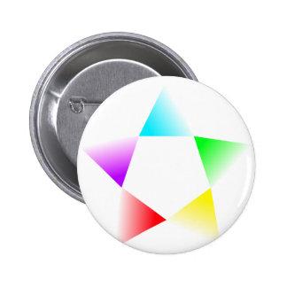 Rotación multicolora de la H-Estrella Pin
