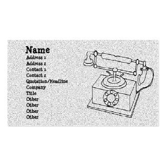 Rotary Double-Sided Standard Business Cards (Pack Of 100)