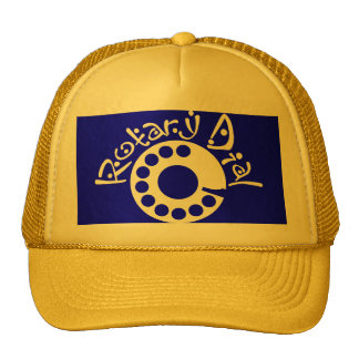 Rotary Dial Mesh Hat