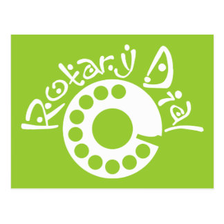 Rotary Dial Postcard