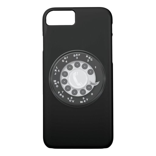 Rotary Dial Retro Look iPhone 8/7 Case