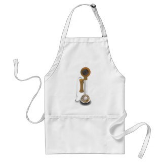 Rotary Dial Telephone Adult Apron