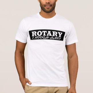 Rotary enough said t shirt design 2