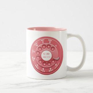 Rotary Faux Two-Tone Coffee Mug
