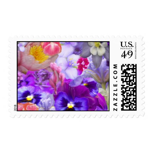 Rotary Garden Postage Stamps